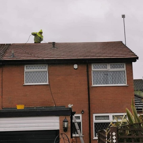 Roof Cleaning B