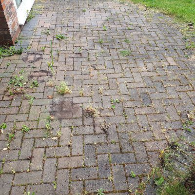 patio cleaning service before