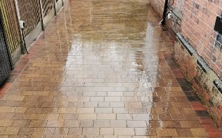 patio cleaning service