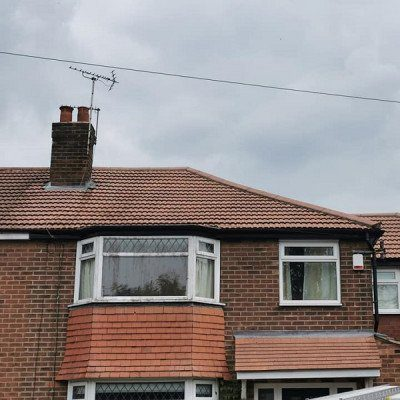 roof cleaning manchester after